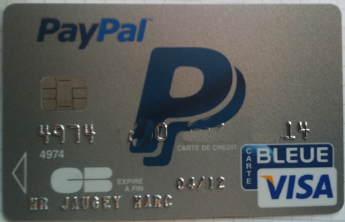 Carte Bleue.Paypal Sort Sa Carte Bleue Blog E Commerce