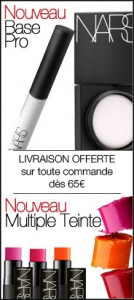 bloc homepage site Nars FR