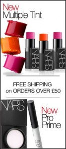 bloc homepage site Nars UK
