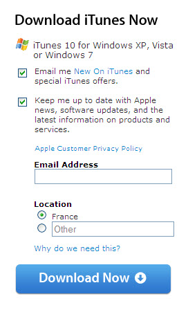 Apple double opt-in