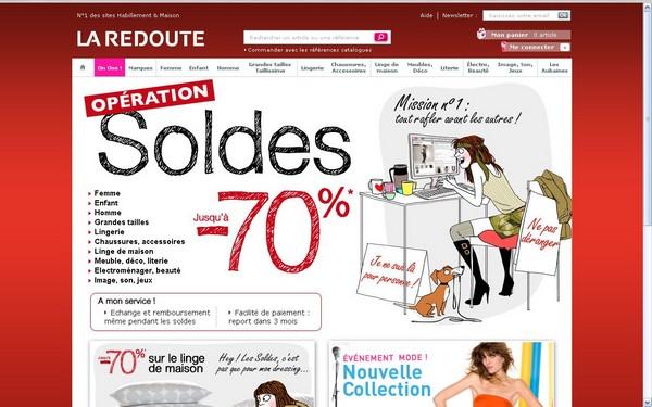 Tour des sites 1h avant les soldes blog e commerce - Site paiement differe 3 mois ...