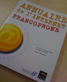 Annuaire de l'internet francophone - couverture
