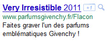 lien google very irresistible