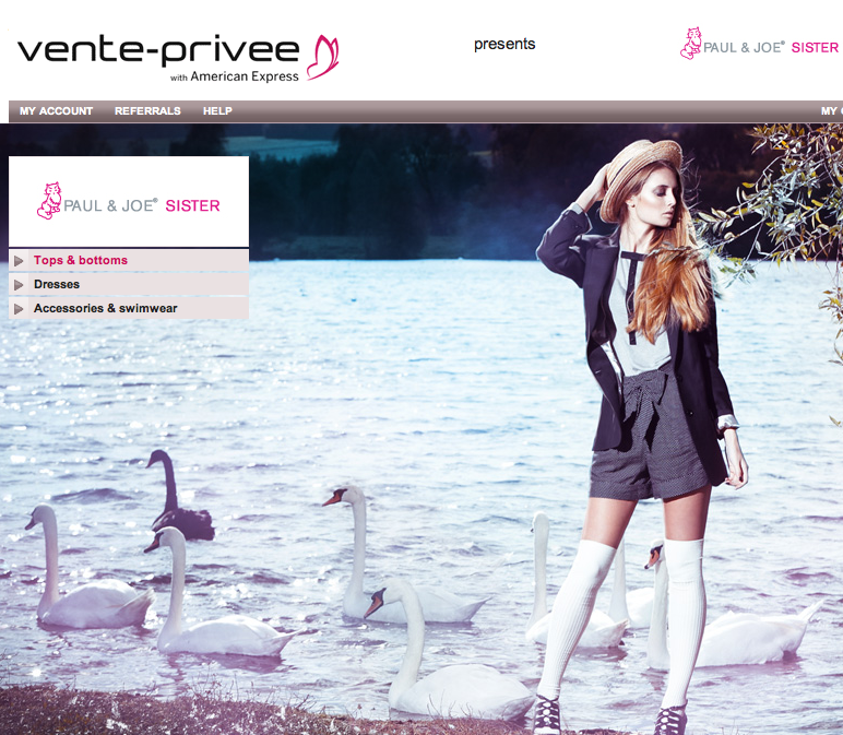 Vente priv e ouvre son site aux us blog e commerce - Vente privee cdiscount ...