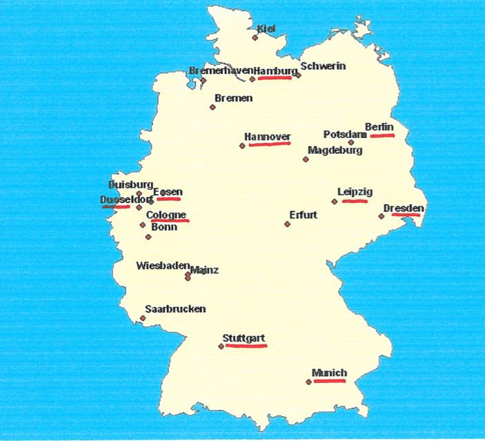 Carte Allemagne Simple.Pourquoi Livrer En France N Est Pas Simple Blog E Commerce