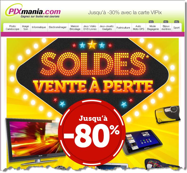 Pixmania vente à perte