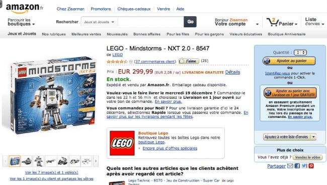 Amazon Mindstorm 2
